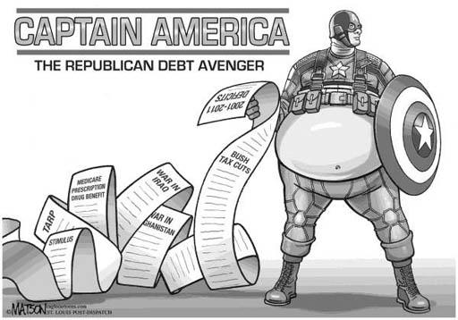 "Captain America?"" by RJ Matson, The St  Louis Post-Dispatch"