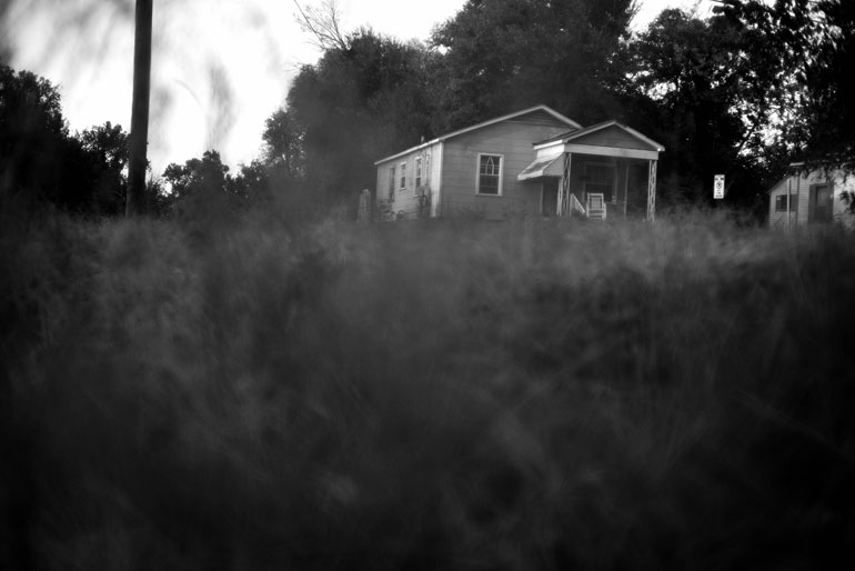 There is a timeless quality to many Mississippi landscapes – and a sense that the problems wrought by poverty in the state can't be overcome. (Photo by Jon Lowenstein)