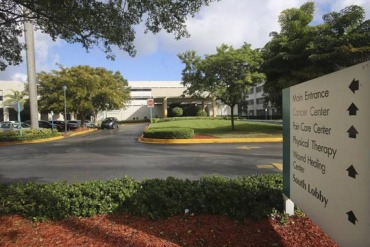 Patients were more likely to develop infections at North Shore Medical Center than at any other hospital in South Florida. (Photo by Marsha Halper/Miami Herald)
