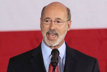 Pennsylvania Governor-elect Tom Wolf (Photo by Michael Bryant/Philadelphia Inquirer)