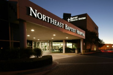 Northeast Baptist Hospital, one of Baptist Health System's five hospitals. (Photo courtest Baptist Health System)