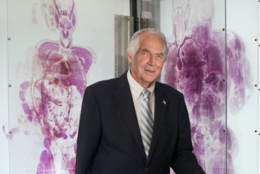 Dr. Donald Lindberg. (Photo courtesy of National Institutes of Health)