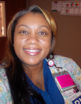 Cherisse Dillard, a labor and delivery room nurse, has been a traveler for nearly a decade. (Photo courtesy of Cherisse Dillard)