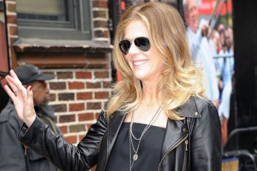 Rita Wilson in New York City in May.  (Photo by Chance Yeh/Getty Images)