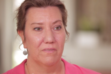 Christy O'Donnell, who has advanced lung cancer, is suing for the right to have the help of a doctor in ending her life if and when they choose. (YouTube)
