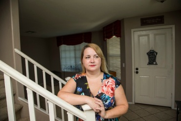 Kimberly Lira at her home in Peoria, Arizona