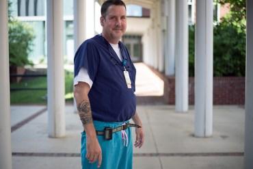 Nurse Jonathan Bartels