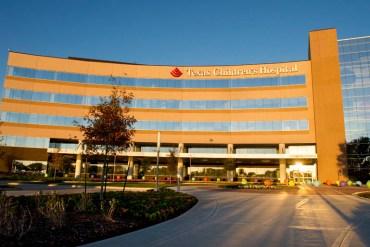 Photo courtesy of Texas Children's Hospital