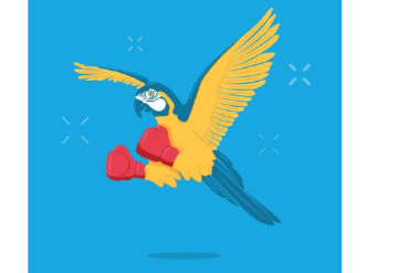 W61.12xA - Struck by macaw, initial encounter (Illustration by Brock Lefferts/Web PT)