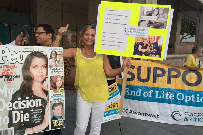 Aid-In-Dying Advocacy Group Girds For Battles After