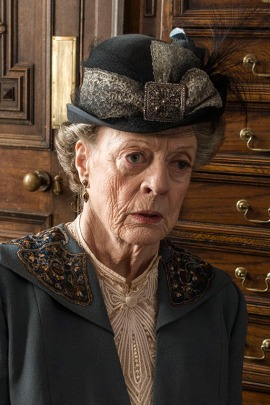 Maggie Smith as Violet, Dowager Countess of Grantham (Courtesy of Nick Briggs/Carnival Film & Television Limited for PBS)