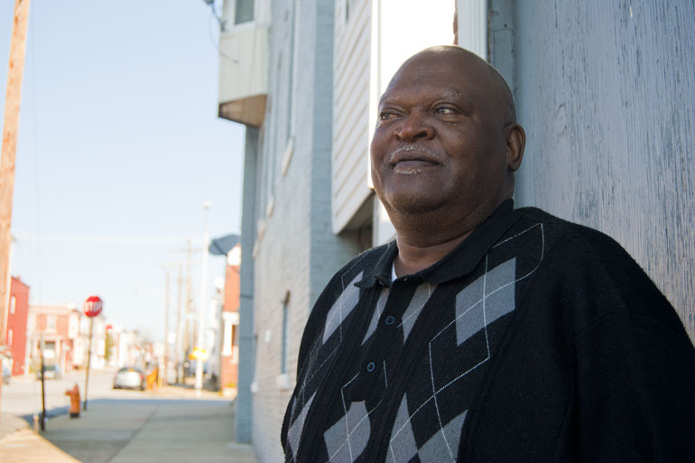 """I change doctors like I change underwear sometimes"" to avoid co-payments as little as $12 or $15, said Eddie Reaves, a diabetic with high blood pressure. Capital News Service photo by Iman Smith."