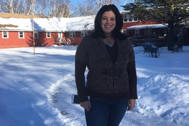 Kristy Letendre, director of Friendship House, says the typical wait to get into the residential treatment facility is four to six weeks. (Rachel Gotbaum)
