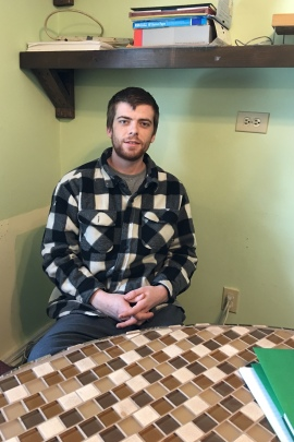 Sean Warren says he wouldn't have survived the nine-week wait for a treatment bed. Instead, he ended up in jail, and then got a bed at Friendship House. (Rachel Gotbaum)