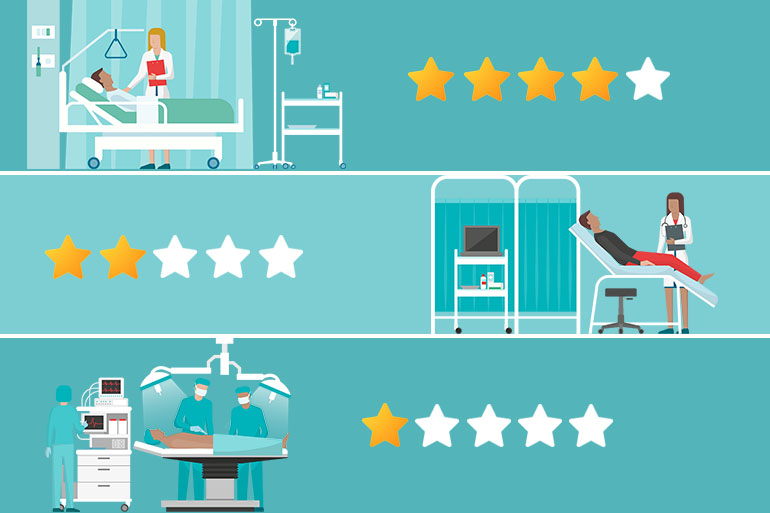 Many Well-Known Hospitals Fail To Score 5 Stars In Medicare's New