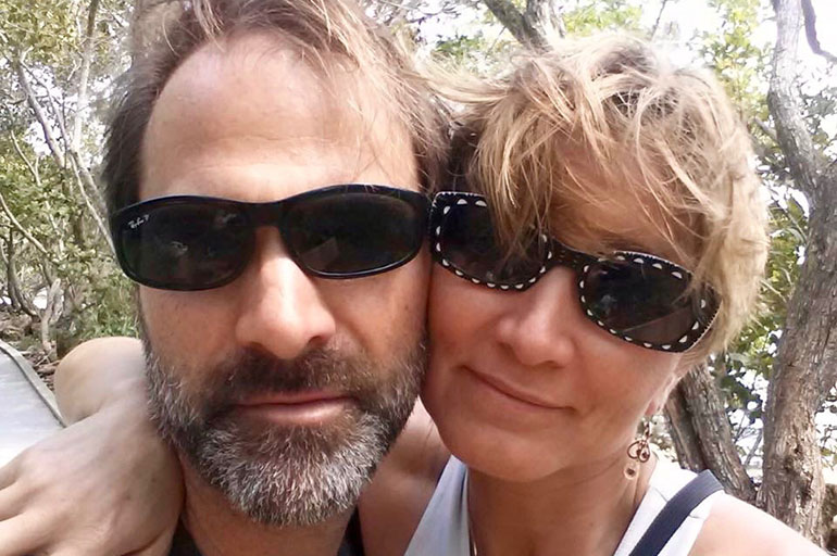 Denise Martinez Gascoigne, 49, and her husband Paul Gascoigne, 49, are paying $1130 in premiums each month for a health plan they say they can't afford to use. (Courtesy of Denise Gascoigne)