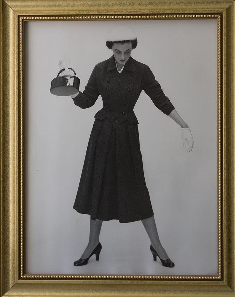 An undated photo of Elizabeth Fee as a fashion model. (Robert Durell for KHN)