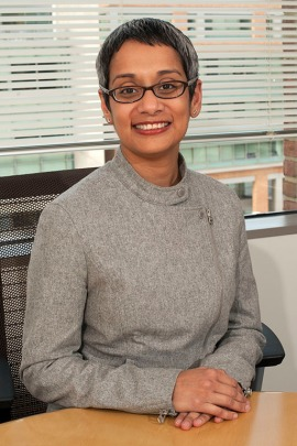 Dr. Gayatri Rao, current director for the FDA's Office of Orphan Products Development (Courtesy of FDA)