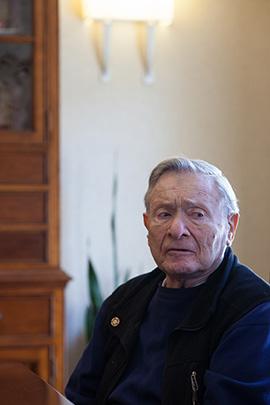 Dr. Harold Ellner, 89, a retired urologist (Jovelle Tamayo/for KHN)