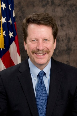 """The concept of safety is much more complex than most people think about until they look into it deeply,"" said Robert Califf, just-departed FDA administrator. (Courtesy of the FDA)"