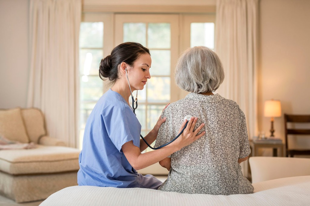 From The ER To Inpatient Care — At Home   Kaiser Health News