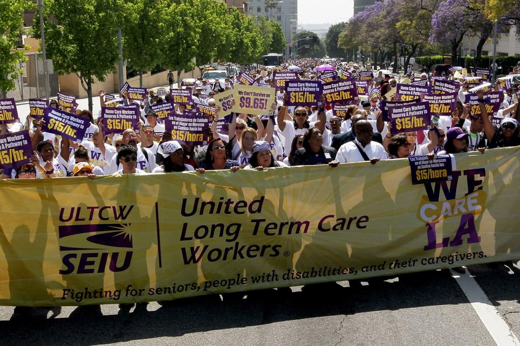 Medicaid Officials Target Home Health Aides' Union Dues | Kaiser