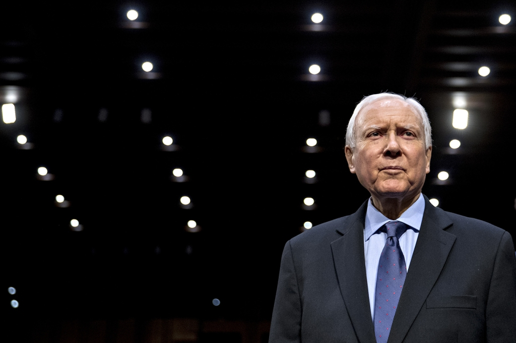 Though his politics have always been right of center, and he lobbied hard against the Affordable Care Act, Republican Sen. Orrin Hatch has been key to passing several landmark health laws with bipartisan support.