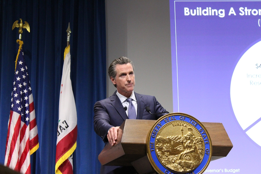 Image result for California Gov. Newsom Proposes Penalty To Fund Health Insurance Subsidies images