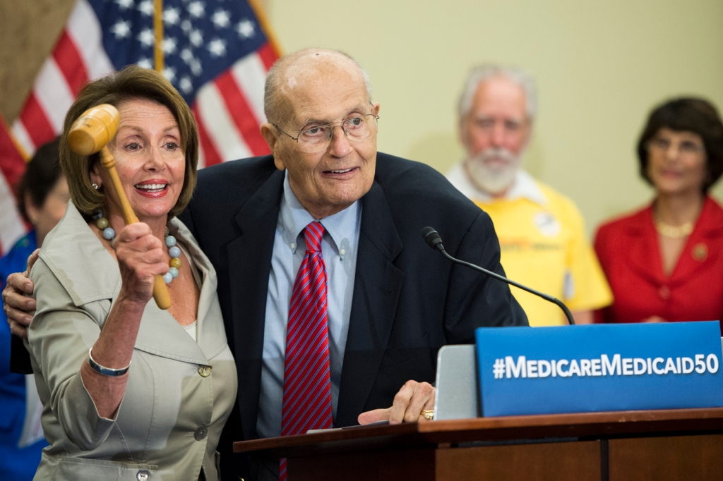 John Dingell, 'Dean Of The House,' Remembered As A Force In Health Policy