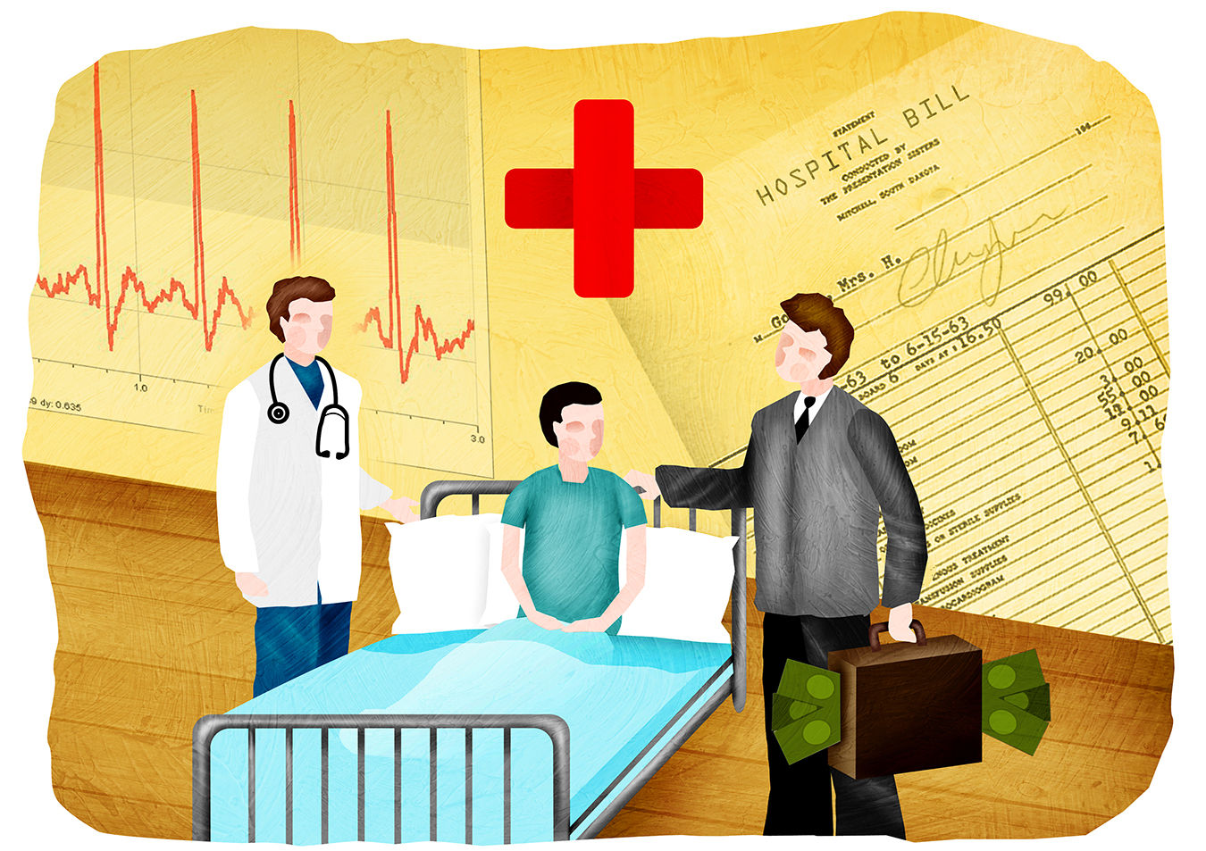 Mired In Medical Debt? Federal Plan Would Update Overdue