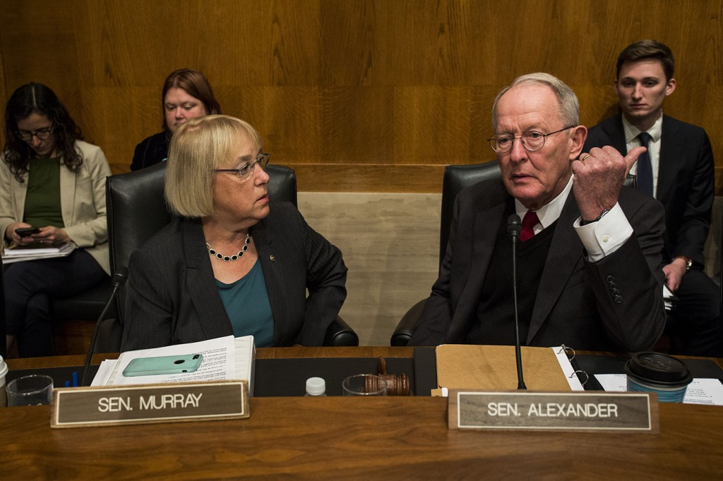 Sen Alexander Releases Bipartisan Plan To Lower Health Costs End