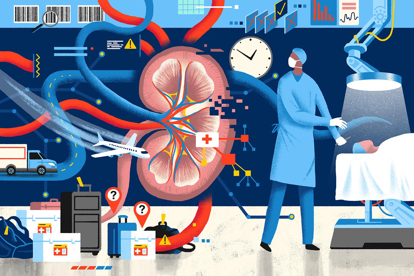 How Lifesaving Organs For Transplant Go Missing In Transit