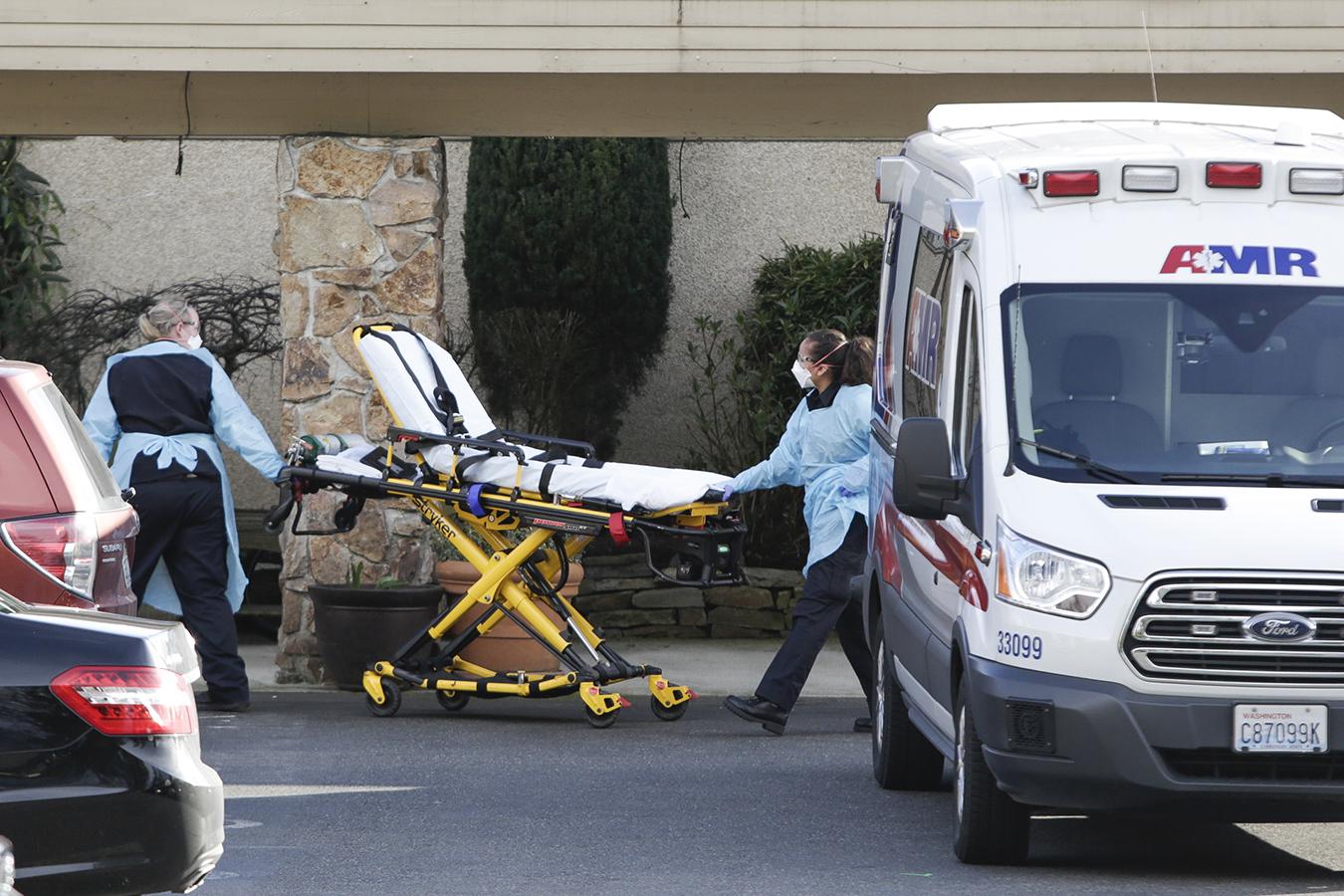 Nursing Home Outbreak Spotlights Coronavirus Risk In Elder Care Facilities Kaiser Health News