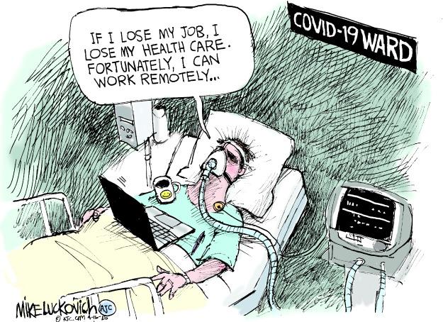 Covid-19 Ward' | Kaiser Health News