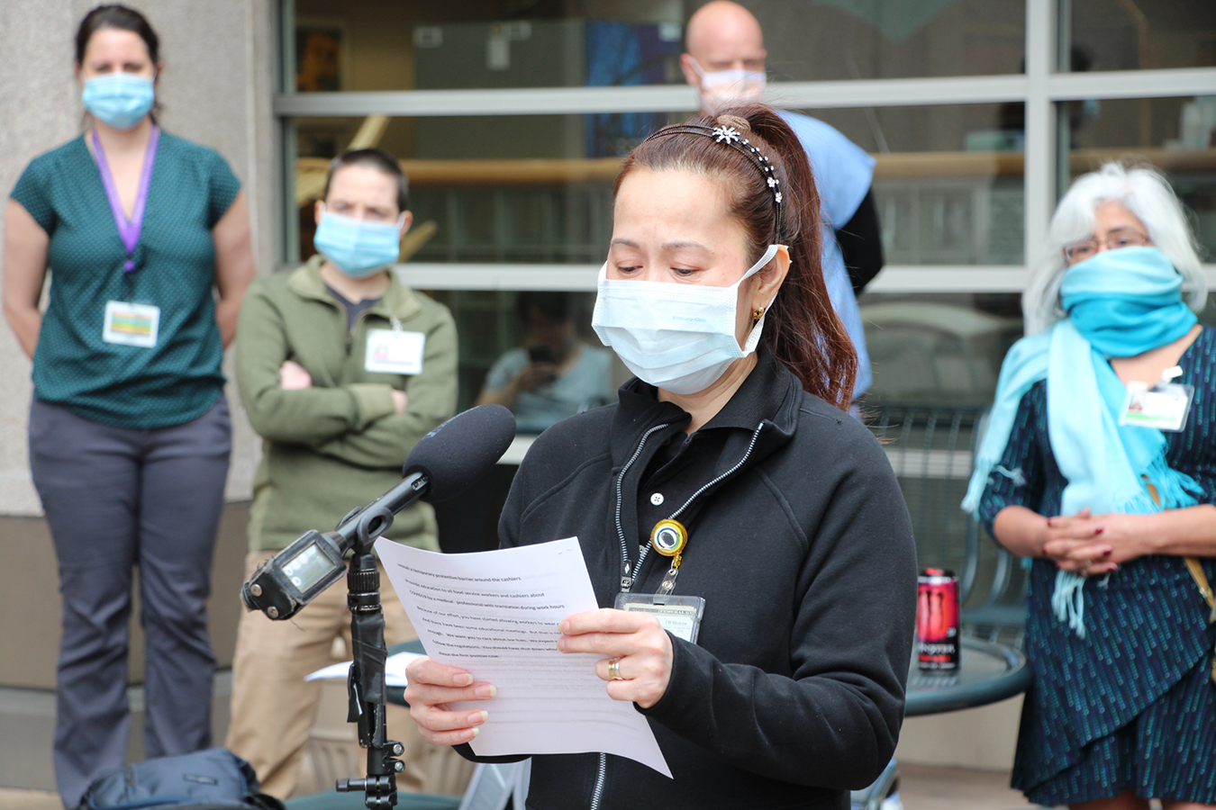 Hospital Workers Complain of Minimal Disclosure After COVID Exposures