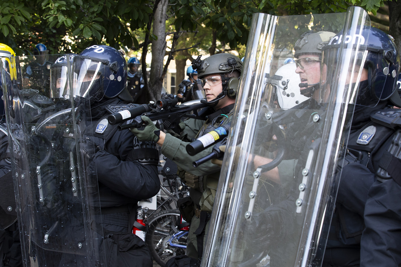 Police Using Rubber Bullets On Protesters That Can Kill Blind Or Maim For Life Kaiser Health News