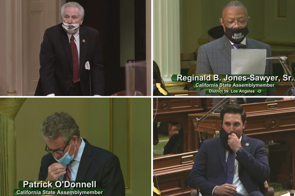 'Terrible Role-Modeling': California Lawmakers Flout Pandemic Etiquette thumbnail