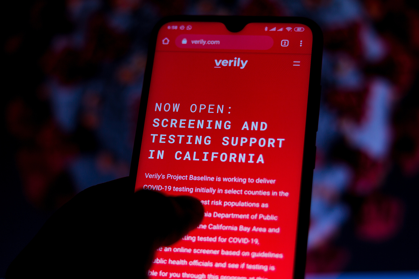 Verily's COVID Testing Program Halted in San Francisco and Oakland