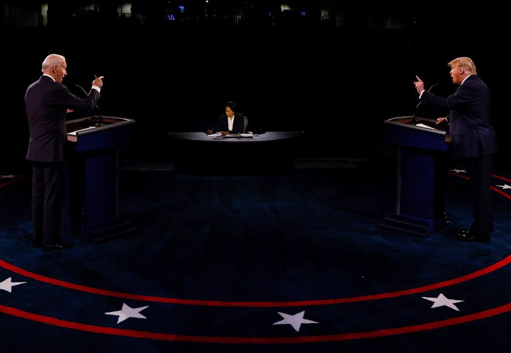 In Tamer Debate, Trump and Biden Clash (Again) on President's Pandemic Response thumbnail