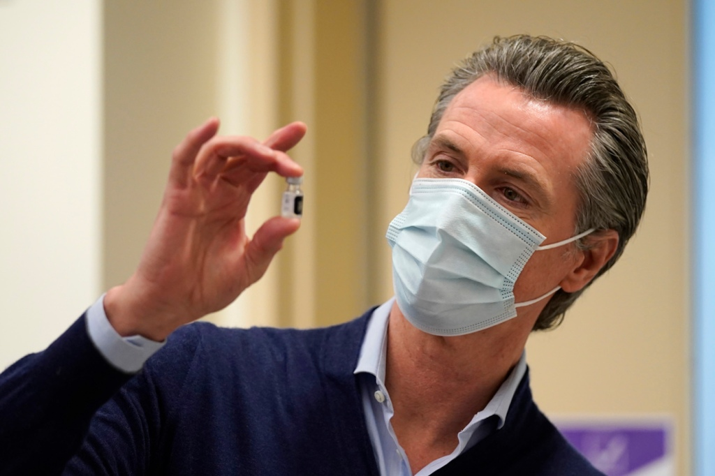 California Budget Reflects 'Pandemic-Induced Reality,' Governor Says