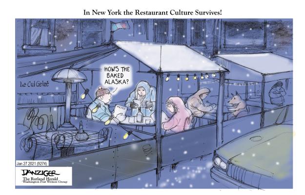 'Outdoor Dining?' | Kaiser Health News
