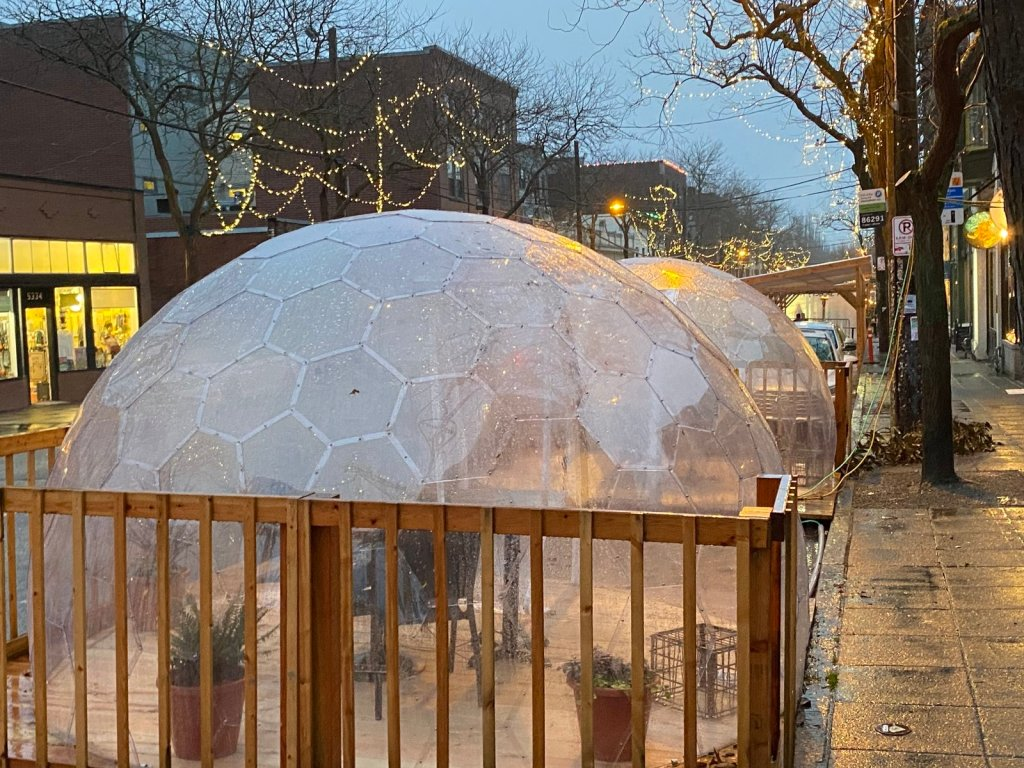 Yurts, Igloos and Pop-Up Domes: How Safe Is 'Outside' Restaurant Dining This Winter? thumbnail