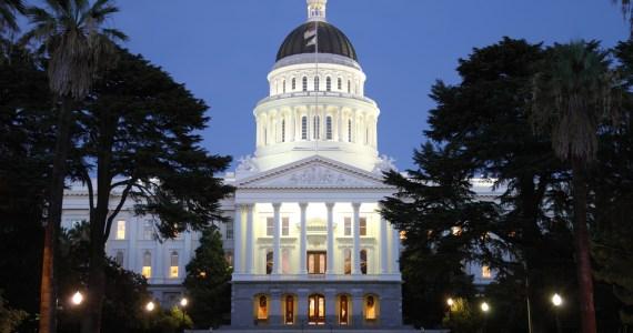 State capital building in Sacramento, California