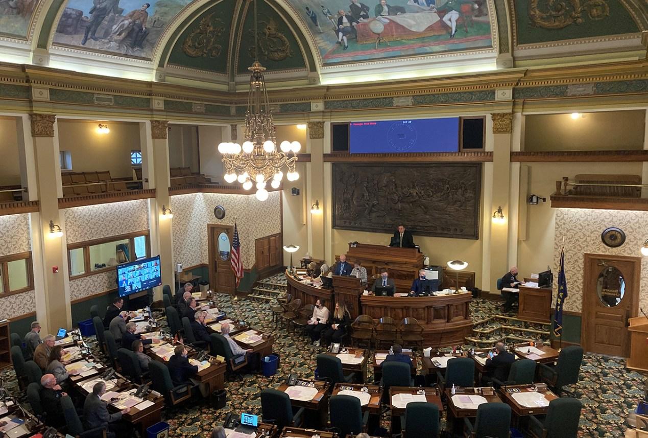 Montana's legislature in session