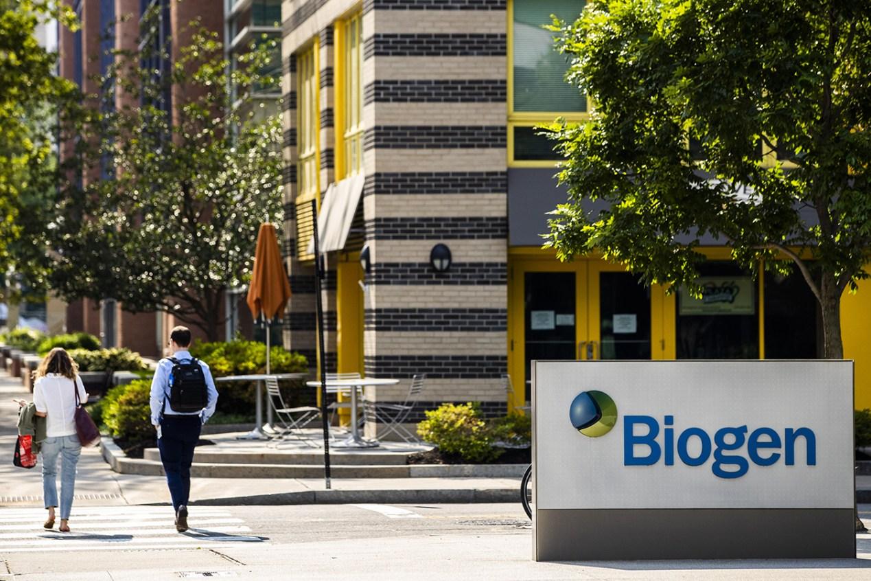 Biogen headquarters in Cambridge, Massachusetts