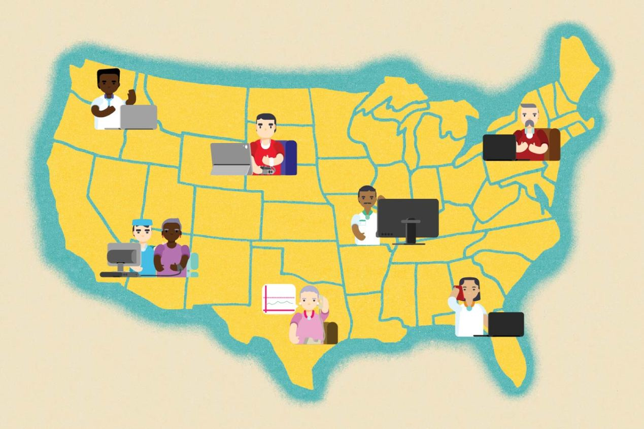 Telehealth's Limits: Battle Over State Lines and Licensing Threatens  Patients' Options   Kaiser Health News