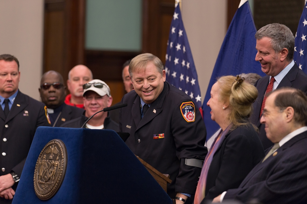 'Luckiest Man Alive': Why 9/11 First Responders' Outlooks Might maybe perchance well also Give a establish discontinuance to At the same time as Physical Health Fails thumbnail