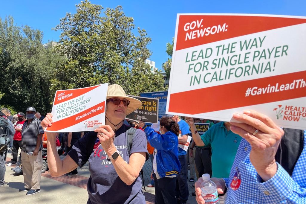 Health Care Unions Defending Newsom From Utilize Will Need Single-Payer Payback thumbnail